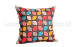 Bantal Sofa Decoration Motif Flakes Leaf Q1988